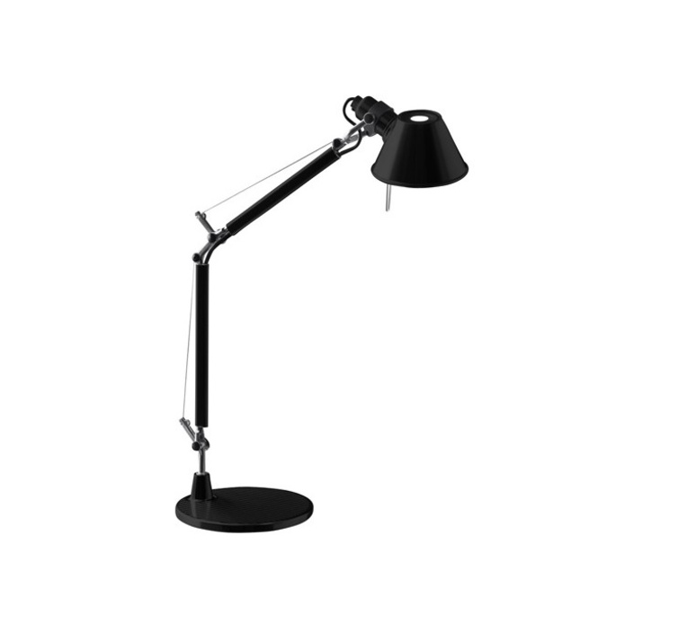 Table lamp Tolomeo Table Micro black H73cm L69cm Artemide