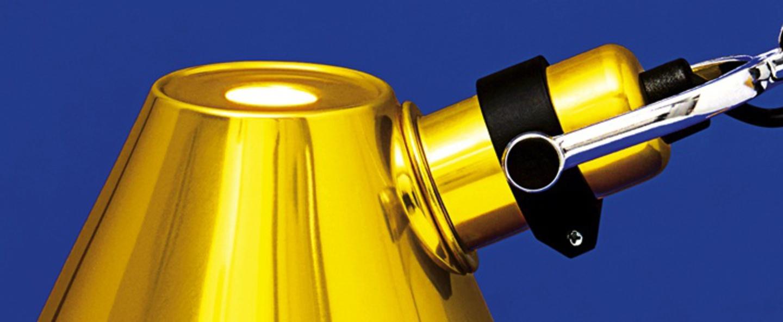 Lampe a poser tolomeo tavolo micro or h73cm l69cm artemide normal