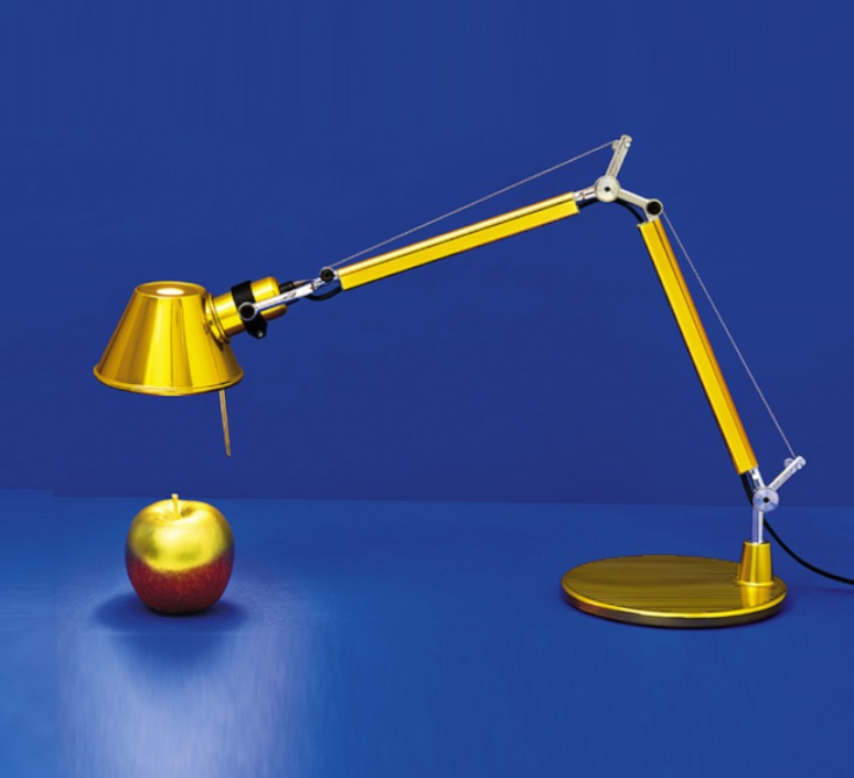 Tolomeo tavolo micro michele de lucchi lampe a poser table lamp  artemide 0011860a  design signed 34208 product