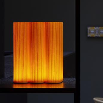 Lampe a poser tomo jaune led 3000k 204lm l18cm h23cm lzf normal