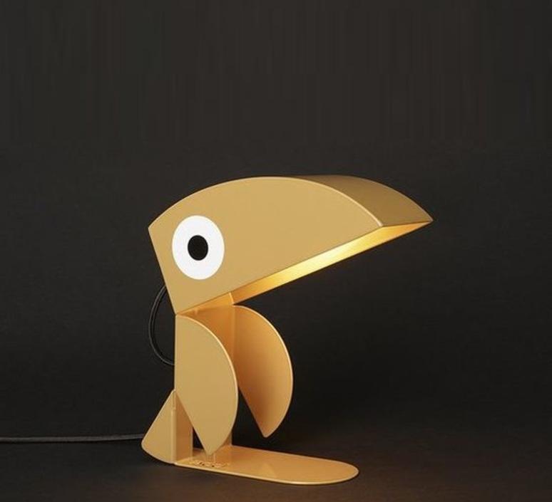 Toucan bleu carmin design studio lampe a poser table lamp  bleu carmin design lmp animo 005  design signed nedgis 77199 product