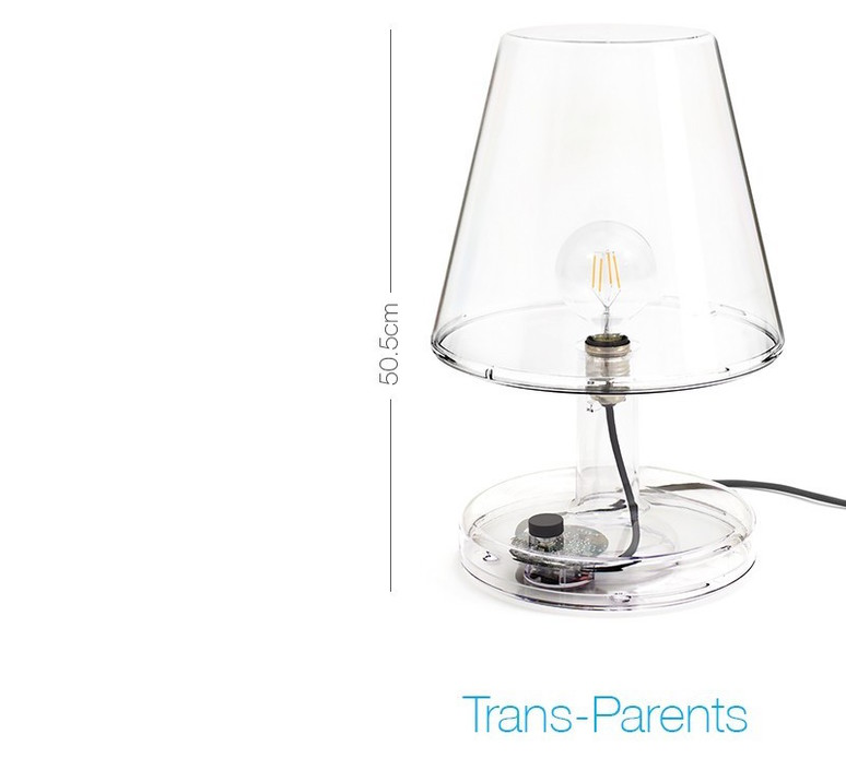 Trans parents  lampe a poser table lamp  fatboy 100563  design signed 58780 product