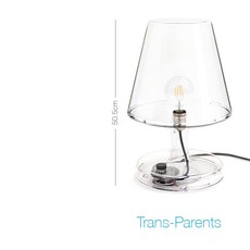 Trans parents  lampe a poser table lamp  fatboy 100561  design signed 58789 thumb