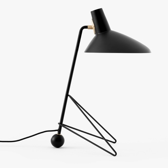 Lampe a poser tripod mh9 noir l26cm h45cm andtradition normal