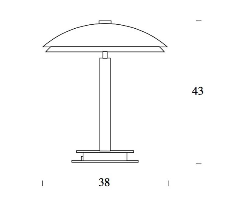 Tris ufficio tecnico fontanaarte 2280 tris luminaire lighting design signed 19859 product