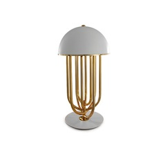 Turner studio delightfull delightfull turner table gold white luminaire lighting design signed 25627 thumb