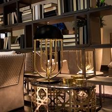 Turner studio delightfull delightfull turner table gold black luminaire lighting design signed 25619 thumb