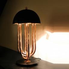 Turner studio delightfull delightfull turner table gold black luminaire lighting design signed 25620 thumb