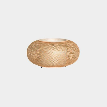 Lampe a poser twiggy al table naturel o40cm h19cm ay illuminate normal