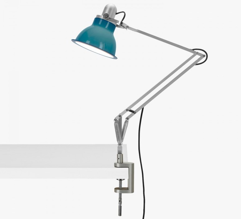Type 1228 avec pince sir kenneth grange lampe a poser table lamp  anglepoise 32412  design signed 40823 product