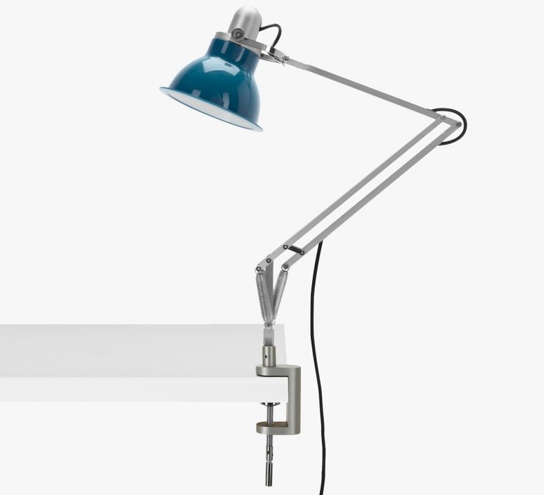 Type 1228 avec pince sir kenneth grange lampe a poser table lamp  anglepoise 32412  design signed 40829 product