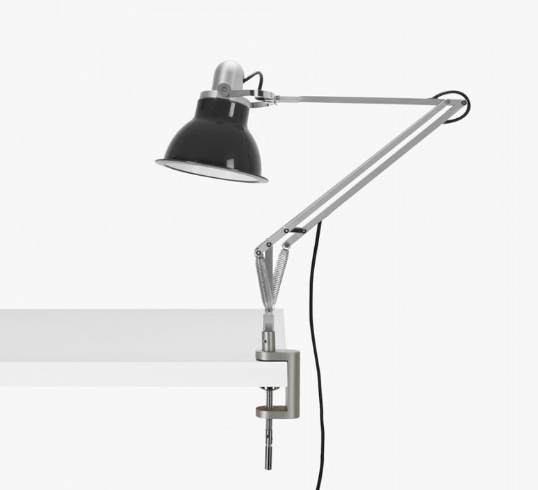 Type 1228 avec pince sir kenneth grange lampe a poser table lamp  anglepoise 32430  design signed 40813 product