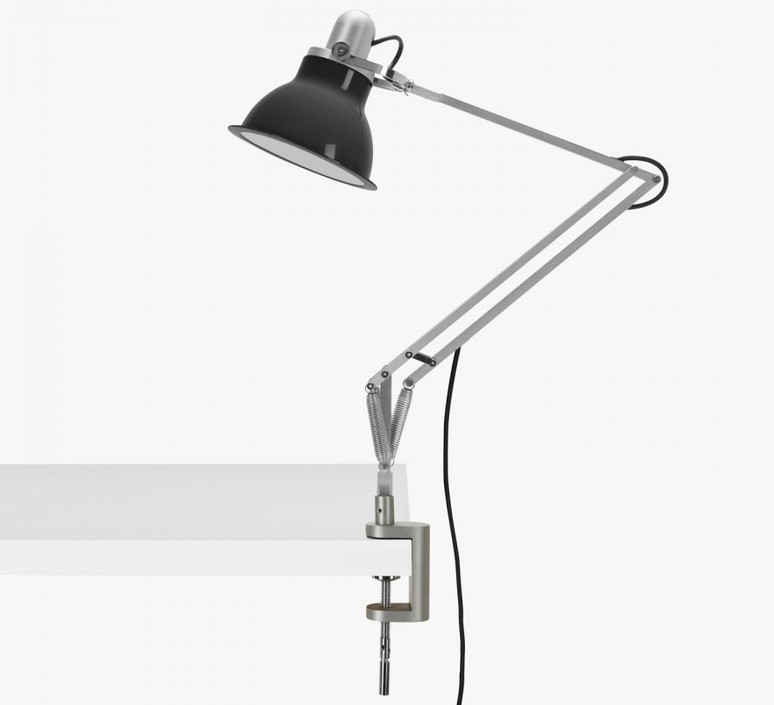 Type 1228 avec pince sir kenneth grange lampe a poser table lamp  anglepoise 32430  design signed 40815 product