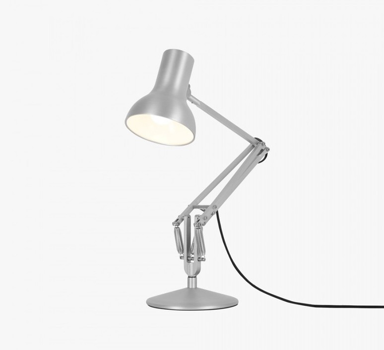 Type 75 mini metallic sir kenneth grange lampe a poser table lamp  anglepoise 32278  design signed 41002 product