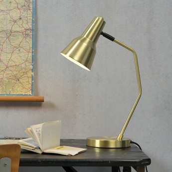 Lampe a poser valencia or o12 5cm h20cm it s about romi normal
