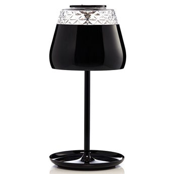 Lampe a poser valentine table noir led o21cm h45cm moooi normal