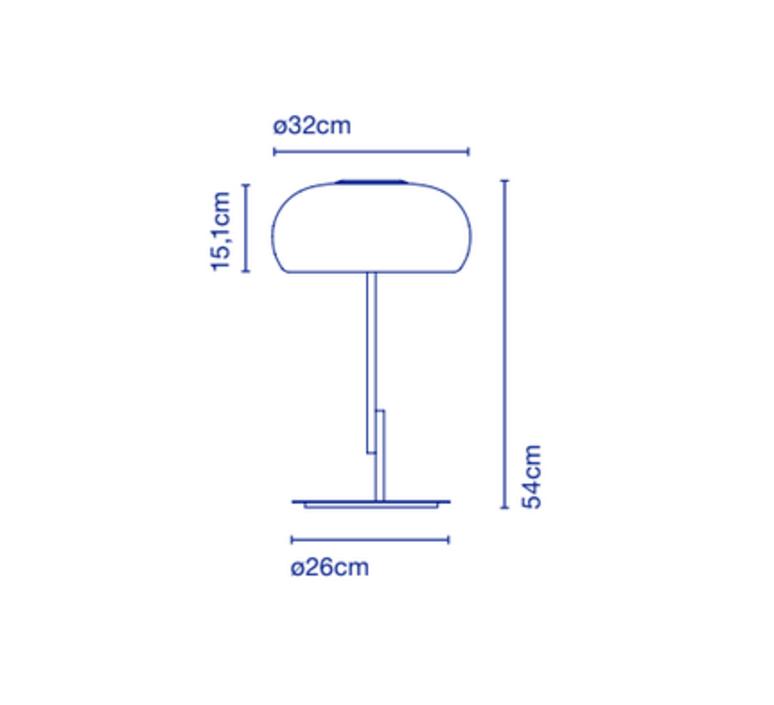 Vetra joan gaspar lampe a poser table lamp  marset a689 006  design signed 61728 product