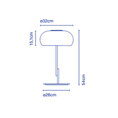 Vetra joan gaspar lampe a poser table lamp  marset a689 006  design signed 61728 thumb