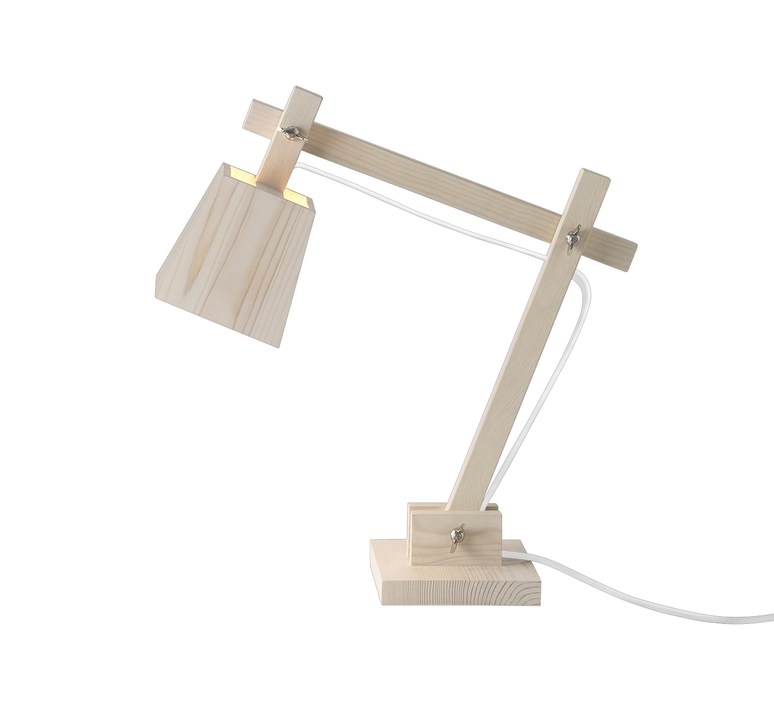 Wood taf architects lampe a poser table lamp  muuto 07075  design signed 48350 product