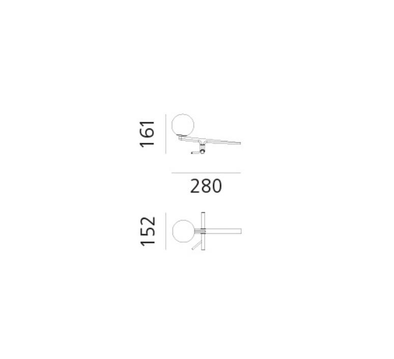Yanzi neri et hu lampe a poser table lamp  artemide 1101010a  design signed 43106 product
