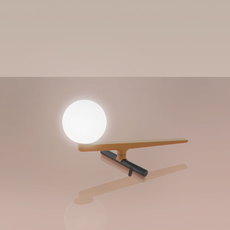Yanzi neri et hu lampe a poser table lamp  artemide 1101010a  design signed 43109 thumb