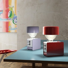 Zak enrico azzimonti zava zak carmine red 3002 with lampeshape luminaire lighting design signed 17393 thumb