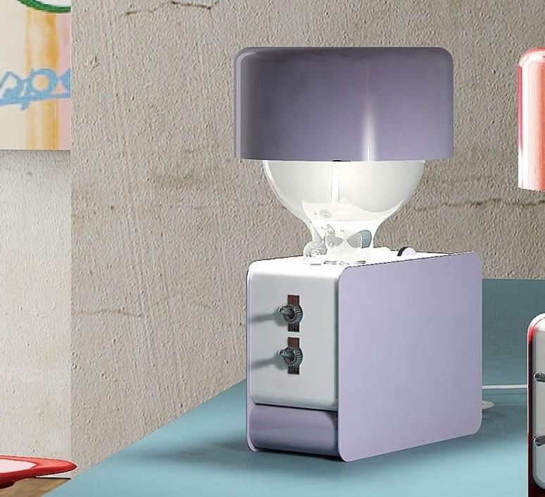 Zak enrico azzimonti zava zak blue lilac 4005 with lampeshape luminaire lighting design signed 17396 product