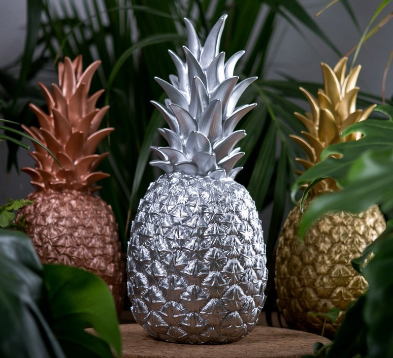Ananas pina colada eva newton goodnight light pina colada argente luminaire lighting design signed 21566 product