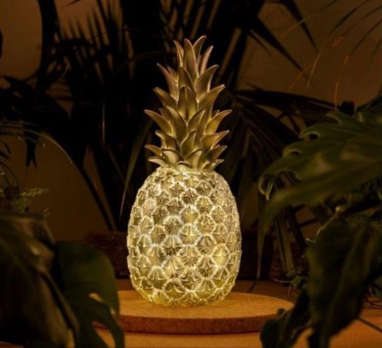 Ananas pina colada eva newton goodnight light pina colada argente luminaire lighting design signed 21567 product