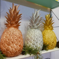lampe ananas pina colada cuivre h32cm goodnight light luminaires nedgis. Black Bedroom Furniture Sets. Home Design Ideas