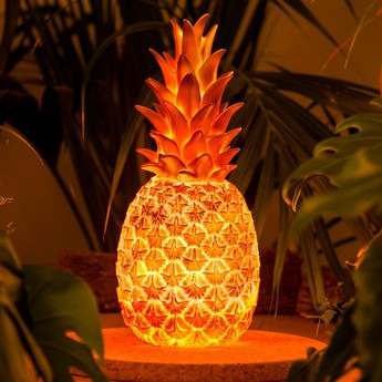 Lampe ananas pina colada bronze h32cm goodnight light normal