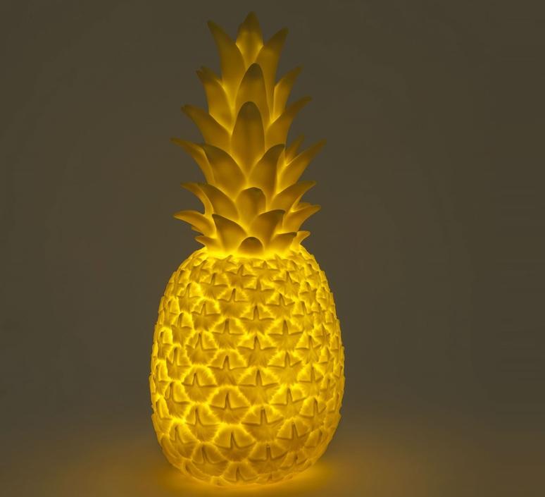 Ananas pina colada eva newton goodnight light pina colada jaune luminaire lighting design signed 21527 product