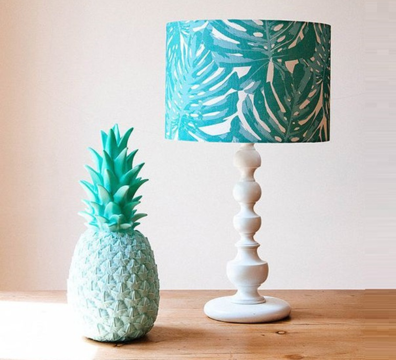 lampe ananas pina colada menthe h32cm goodnight light luminaires nedgis. Black Bedroom Furniture Sets. Home Design Ideas