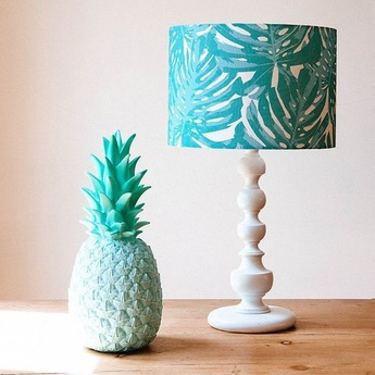 Lampe ananas pina colada menthe h32cm goodnight light normal