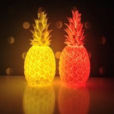 Ananas pina colada eva newton goodnight light pina colada rouge fluo luminaire lighting design signed 21537 thumb
