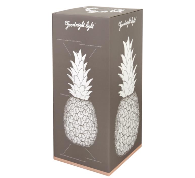 Ananas pina colada eva newton goodnight light pina colada rouge fluo luminaire lighting design signed 25512 product