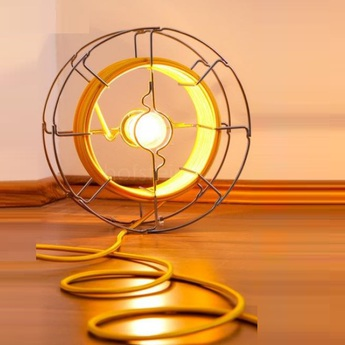 Lampe baladeuse arianna jaune h30cm zava normal