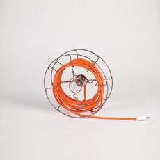 Arianna paolo ulian zava ariana lampe chrome cable orange rayon luminaire lighting design signed 17459 thumb