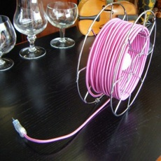 Arianna paolo ulian zava ariana lampe chrome cable cyclamen rayon luminaire lighting design signed 17450 thumb