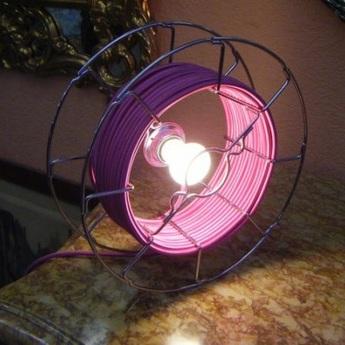 Lampe baladeuse arianna rose h30cm zava normal