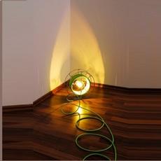 Arianna paolo ulian zava ariana lampe chrome cable law green rayon luminaire lighting design signed 17454 thumb