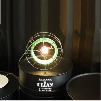 Lampe baladeuse arianna vert h30cm zava normal