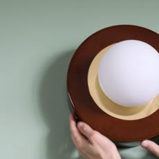 1 02 sophie gelinet et cedric gepner lampe a poser table lamp  haos 1 02 cognac  design signed 41567 thumb