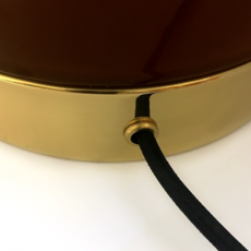 1 02 sophie gelinet et cedric gepner lampe a poser table lamp  haos 1 02 cognac  design signed 41569 thumb