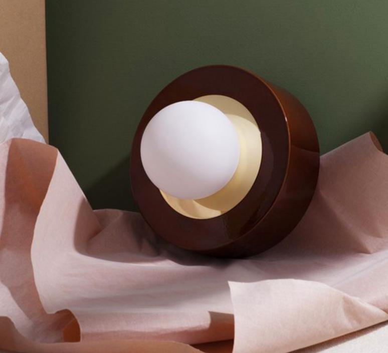 1 02 sophie gelinet et cedric gepner lampe a poser table lamp  haos 1 02 cognac  design signed 41570 product