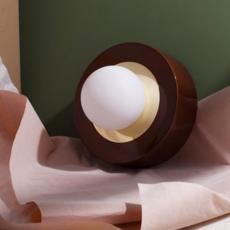 1 02 sophie gelinet et cedric gepner lampe a poser table lamp  haos 1 02 cognac  design signed 41570 thumb