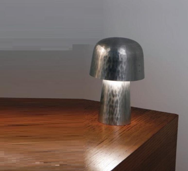 Chapeliere francois azambourg lignes de demarcation chapeliere martelee petite luminaire lighting design signed 23592 product
