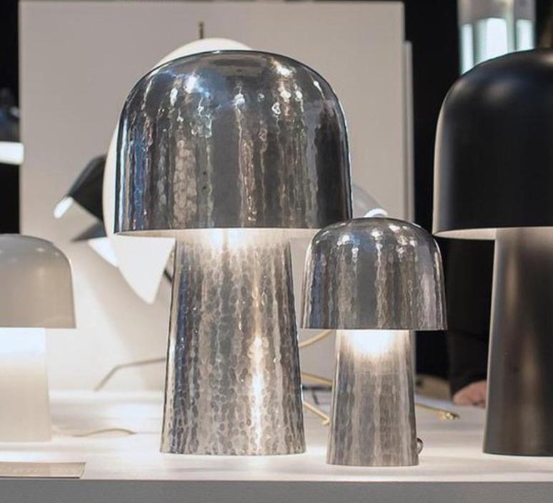 Chapeliere francois azambourg lignes de demarcation chapeliere martelee petite luminaire lighting design signed 23593 product