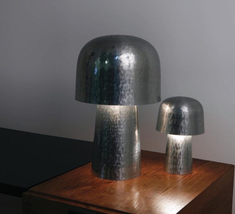 Chapeliere francois azambourg lignes de demarcation chapeliere martelee petite luminaire lighting design signed 23594 product