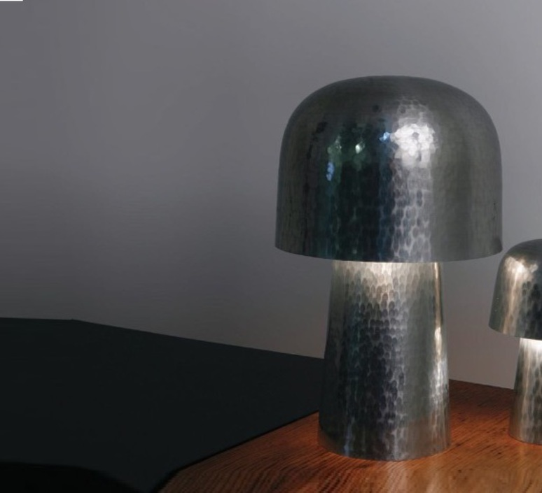 Chapeliere francois azambourg lignes de demarcation chapeliere martelee grande luminaire lighting design signed 23588 product